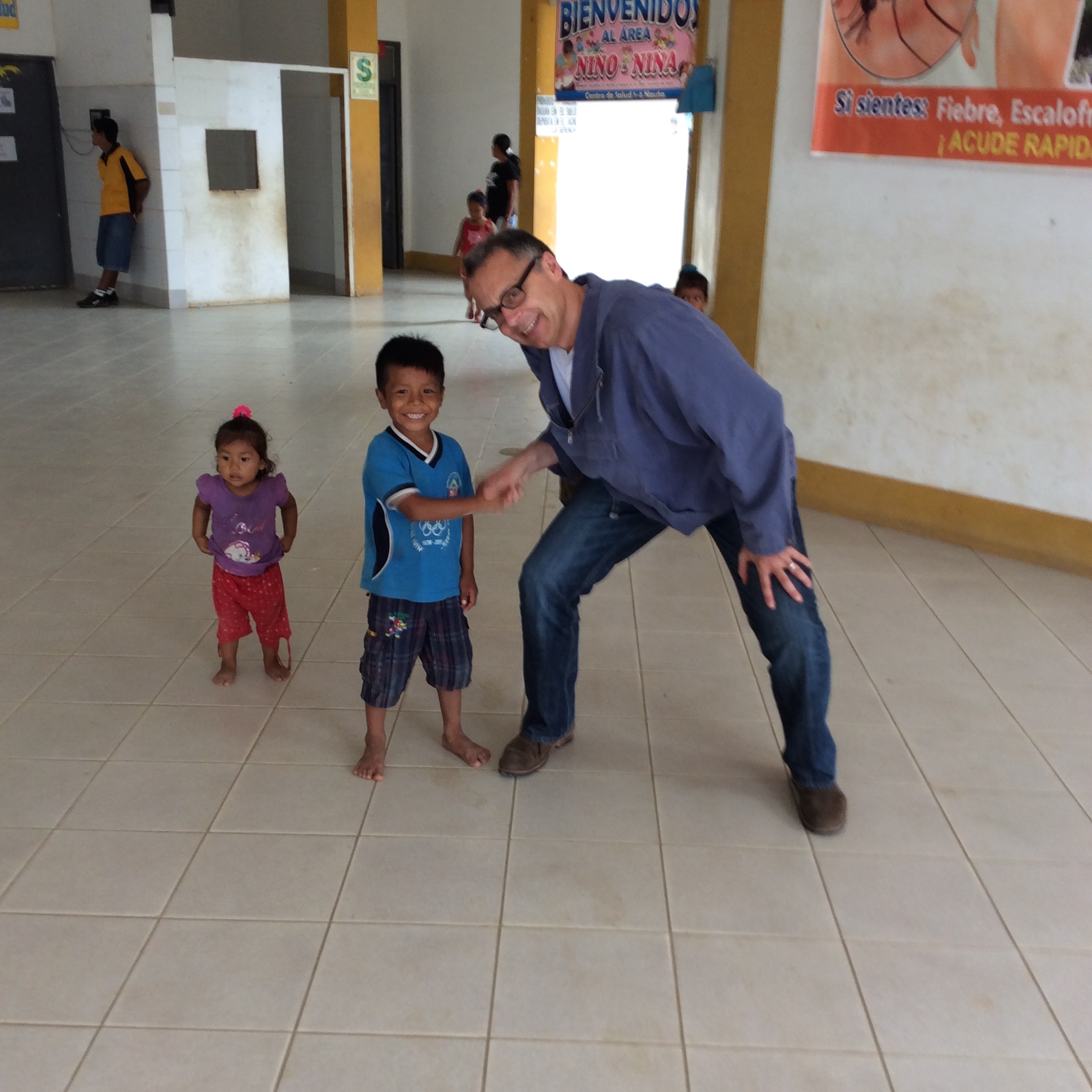 The Help Company gives back, in PERU!
